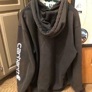 Black Carhartt Sweatshirt/Hoodie